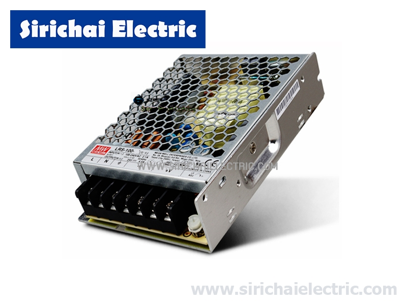 SWITCHING POWER SUPPLY LRS-100-24 24VDC 4.2A 100W MEANWELL