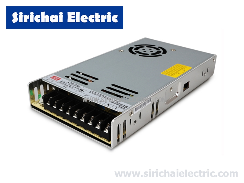 SWITCHING POWER SUPPLY LRS-350-24 24VDC 14.6A 350W MEANWELL