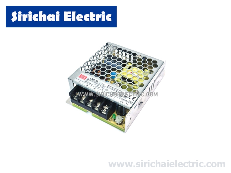 SWITCHING POWER SUPPLY LRS-35-12 12VDC 2.9A 35W MEANWELL