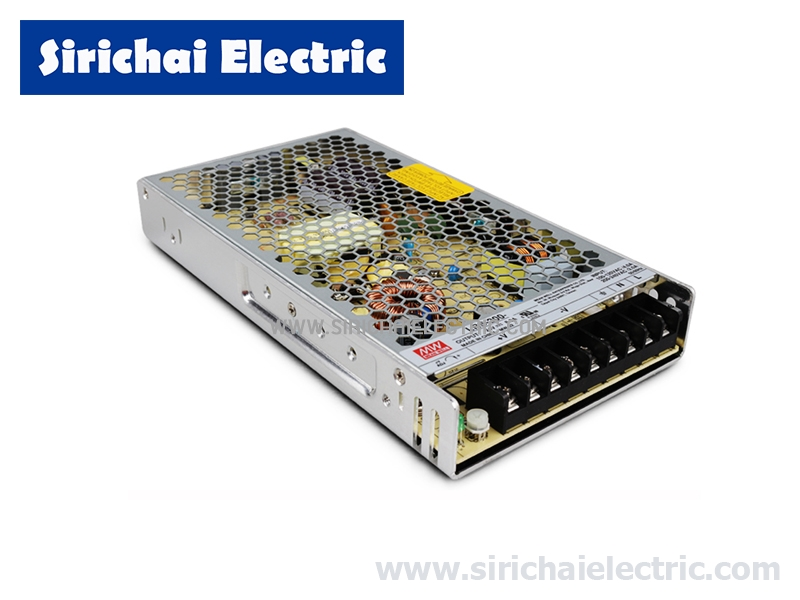 SWITCHING POWER SUPPLY LRS-200-12 12VDC 16.6A 200W MEANWELL